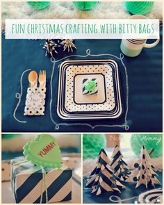 Tuesday Tutorial - Christmas Crafting With Bitty Bags