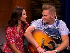 Joey and Rory. Happy and in love!