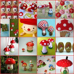 https://flic.kr/p/5rjaBK | dedicated to all fly agaric lovers | ... like me :)  1. mushroom cookies, 2. Now they are portable :D, 3. shroom, 4. buttons, 5. Brand new bag, 6. Pinokies mushroom, 7. mushrooms, 8. mushroom bulletin boards, 9. into the woods, 10. Friendly Mushrooms, 11. mushroom update, 12. Mushroom Beads, 13. felted fly agaric from santa :-), 14. Lil Dumplin's, 15. New Vintage Fabric - Moles and Mushrooms, 16. Mushroom House: Red  Created with fd's Flickr Toys.  blogged