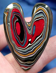 Solid Detroit Agate / Fordite Cabochon   WHIMSICAL by suzybones, $33.98
