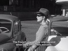 Breathless. Jean Seberg.