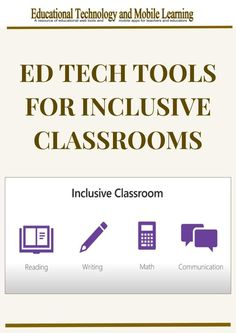 One of the key strengths of learning technologies and more specifically assistive technologies is that they help students with disabilities tap into their full potential and provide inclusive learning environments that respond to diverse learning needs. Math Tools, Learning Tools, Learning Disabilities, Learning Environments, Assistive Technology, Educational Technology, Cult Of Pedagogy, Apps For Teachers, Inclusion Classroom