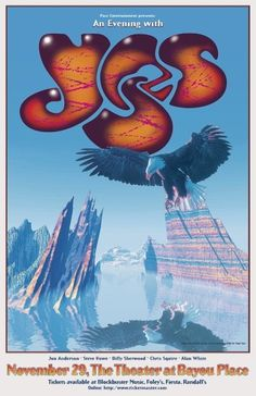 Roger Dean Poster Yes