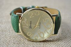 Fashion Charm Watch Unisex Watches Classical style by Evanworld, $6.99 Fashion charm handmade personalized watches, best gift.
