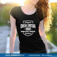 T-shirt Edição Limitada personalizada (Mulher)