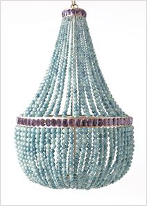 Marjorie Skouras Design - Empire Chandelier - in lots of different colors. Love the white one