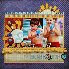 *Soak It Up* SB&CT Summer '10 - Scrapbook.com