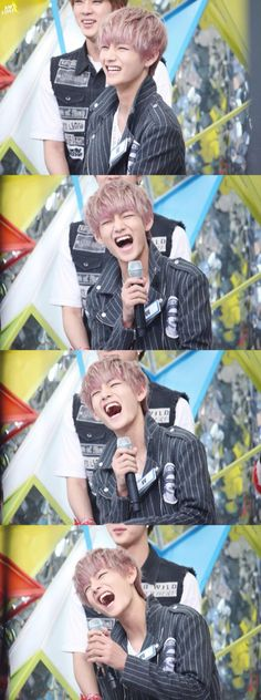 oh my god V laughing like crazy- Bts on mpd mission dance for war of hormone