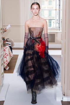 Schiaparelli Fall 2017 Couture collection.