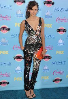Nina Dobrev en Teen Choice Awards 2013