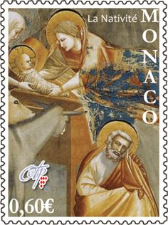 Christmas 2012 stamp from Monaco