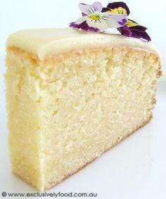Weißer Schokoladenkuchen