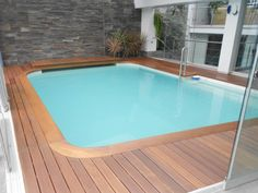 Hardwood decking of hotel resort in Peru protected with Decking Oils (013 Garapa Oil)