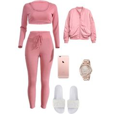 A fashion look from February 2017 featuring H&M jackets, Puma sandals and Michael Kors watches. Browse and shop related looks.