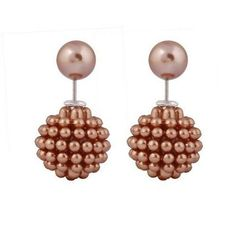 Pearl Clip on Party Earrings