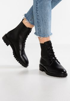 promo code 19377 4da10 Lace-up ankle boots - black