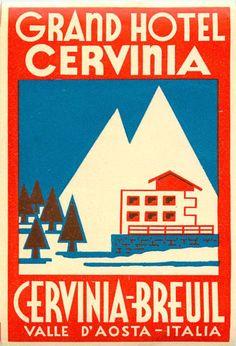 Grand Hotel - Cervinia-Breuil (Valle d'Aosta) -  Label