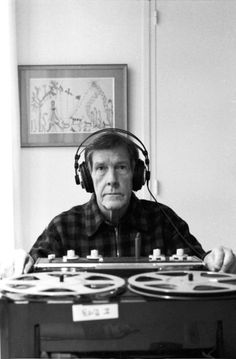 Marion Kalter: John Cage in 1981 in Paris in the apartment of Dorothea Tanning