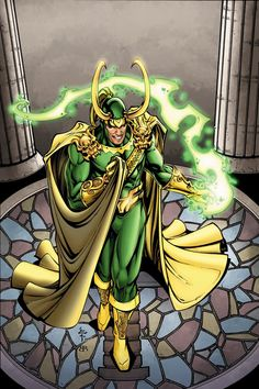 Loki, I hate this costume. You look like a giant lime\ lemon. XP But you could wear a potato and you would STILL be sexy!