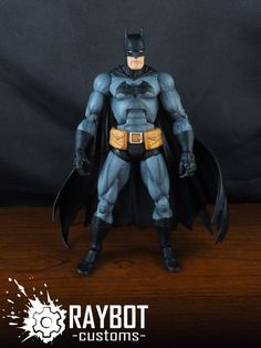 Batman (Marvel Legends) Custom Action Figure by raybot Base figure : Drax