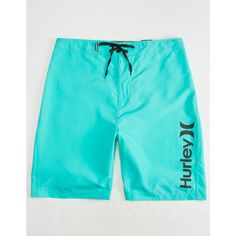 Hurley One & Only Mens Boardshorts ($40) ❤ liked on Polyvore featuring men's fashion, men's clothing, mens clothing, men's apparel and hurley mens apparel