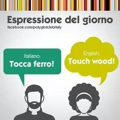 Learning Italian Language ~ Touch Wood  IFHN