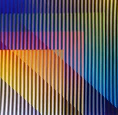 Carlos Cruz-Diez is a Venezuelan kinetic and op artist. He lives in Paris. He has spent his professional career working and teaching between both Paris and Caracas. His work is represented in museums and public art sites internationally