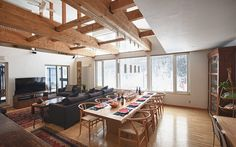 Chalet Murasaki wins kudos as Hirafu's only ski-in ski-out stand-alone chalet.