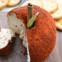 Spiced Apple Cheese Ball for New Year's Eve