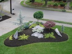 Fresh and Beautiful Front Yard Landscaping Ideas (34) #LandscapingBackyard  #LandscapingIdeas