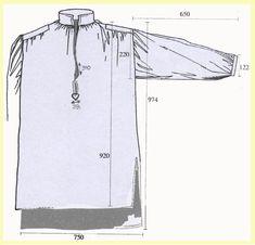 Camisa usada en el ejército de la época