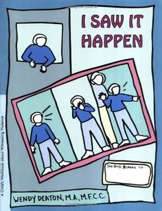 I Saw It Happen: A Child's Workbook About Witnessing Violence by Wendy Deaton