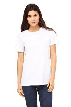 Short Sleeve: Relaxed/Loose Fit Jersey T Shirt