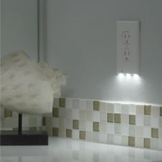 This outlet cover that's also a night light. | 23 Insanely Clever Products For Your Small Space