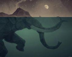 Elephan # Couleurs #  Géométrie # Forme