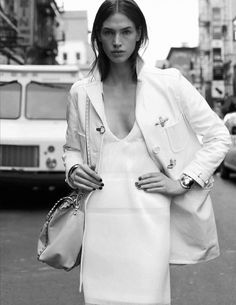 "stormtrooperfashion: ""Crista Cober in ""Nueva York"" by Santiago & Mauricio for Vogue Spain, February 2015 """