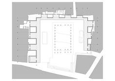 edificio perimetral y adecuación del entorno urbano del templo de diana . mérida