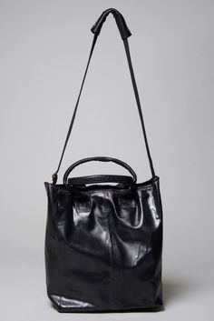 All Black Tote Bag – The Archive