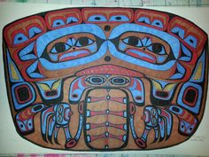 Tlingit. Bear by Richard Lawton