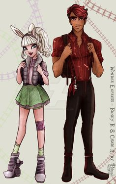 Wonder Express - Bunny B. and Chase R. by princeivythefirst.deviantart.com on…