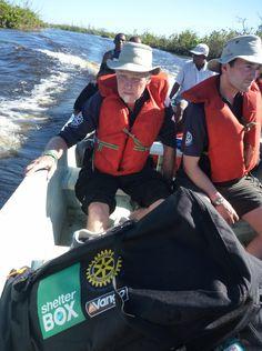 #Boat #ShelterBox #Transportation #DisasterRelief