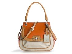 I want this bag!!! Etienne Aigner Valencia Top Handle Satchel