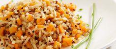 Poucos alimentos são tão versáteis quanto a abóbora. Por isso, não se limite ao tradicional. Para contar com as fibras e poucas calorias, prepare até arroz.