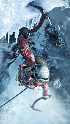 Rise of the Tomb Raider (now properly using ice axes)