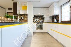 #Furniture #MadeToMeasure #ModernKitchen #InteriorDesign #FronteDesign Walnut Kitchen, Divider, Interior Design, Table, Room, Furniture, Home Decor, Nest Design, Bedroom