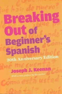 Many language books are boringthis one is not. Written by a native English speaker who learned Spanish the hard wayby trying to talk to Spanish-speaking peopleit offers English speakers who have a bas