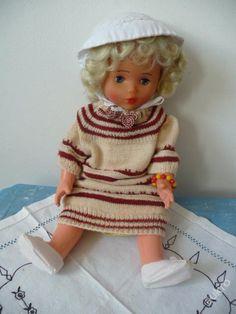Stará panenka,výška 48 cm ( 13 )