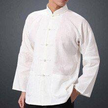 Camiseta de hombre para hacer taich/í decorada con caracteres chinos de ICNBUYS