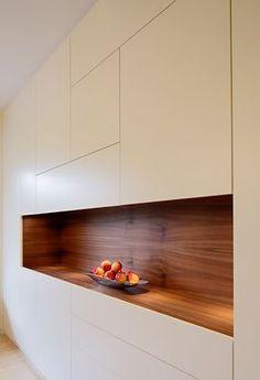 Brigitte Lichtner – Photographie – Atelier für Me… Kitchen Living, New Kitchen, Küchen Design, House Design, Living Room Storage, Storage Room, Cuisines Design, Cabinet Design, Kitchen Interior