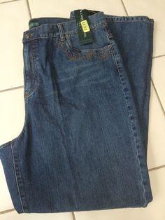 "NWT Ralph Lauren LRL Jeans Company Chalet PLUS 16W Reg Inseam 31"" #RalphLauren #Jeans"